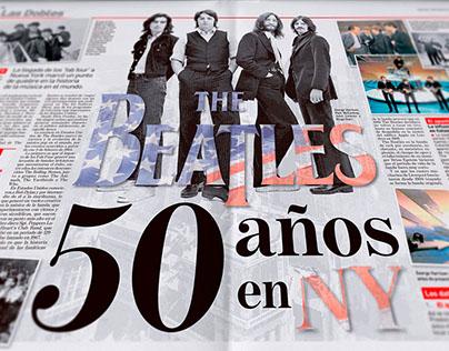 The Beatles 50 años en Nueva York