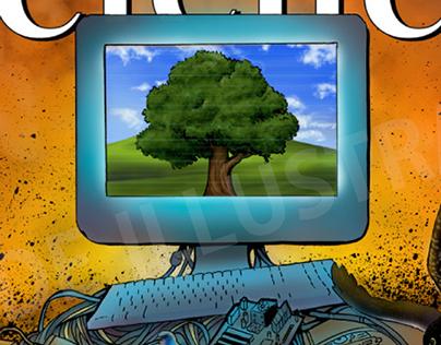 From E-Wonderland to E-Wasteland