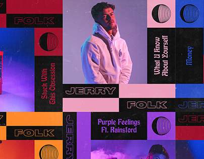 Jerry Folk - Purple Evenings