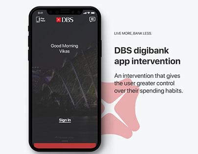 Mobile Banking App Intervention