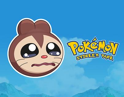 Pokemon sticker pack