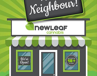NewLeaf Cannabis Store Opening