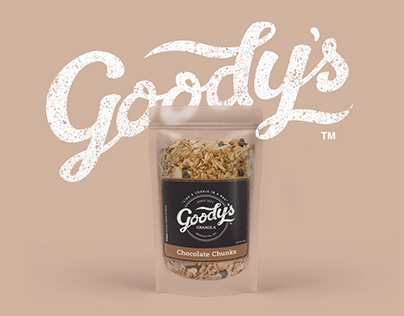 Goody's Granola Logo & Label Design