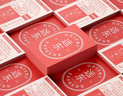 Orient Express - Branding