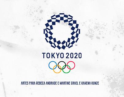 Homenagem Medalhistas - Tokyo 2020