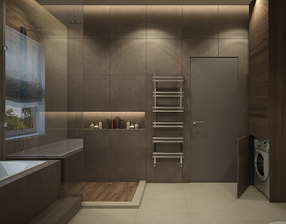 Bathroom for house in Kiev