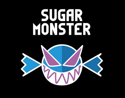 Sugar Monster (Logo+Packaging)
