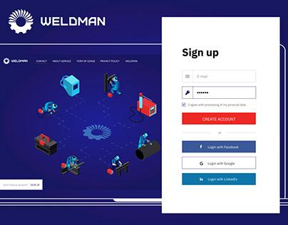 User interface Welding courses online