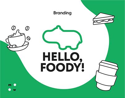 Hello, Foody! / branding