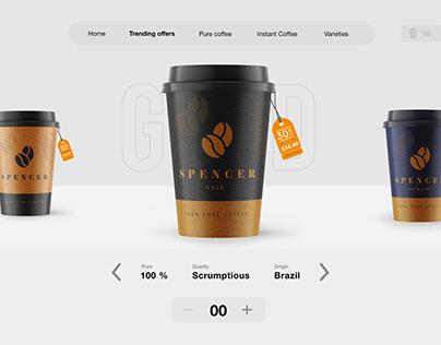 Coffee Ordering - web app