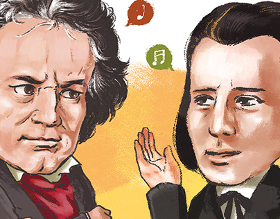 Beethoven & Brahms: For Classic Topics 1