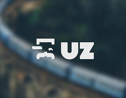 Logo Redesign Concept for UkrZaliznycia