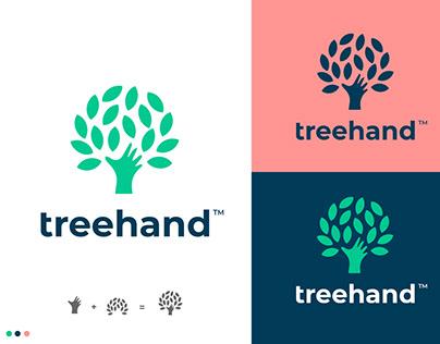 Tree logo, Minimal tree logo