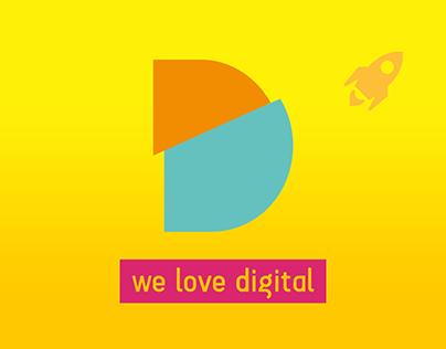 We Love Digital - Brand development