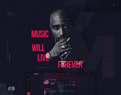 YourMusic - Design Concept