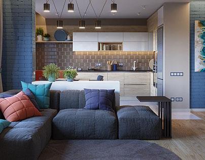 Apartment in Oasis Novosibirsk