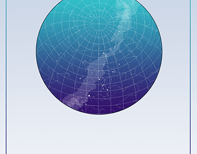 Mapa das estrelas personalizado