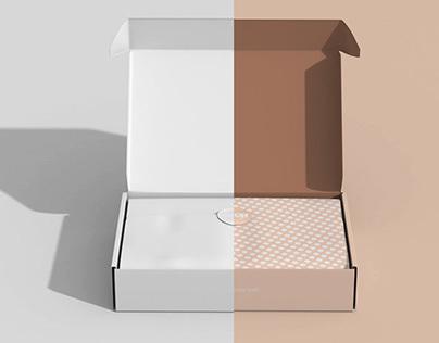 Mailing Box Mockup Set Part 2