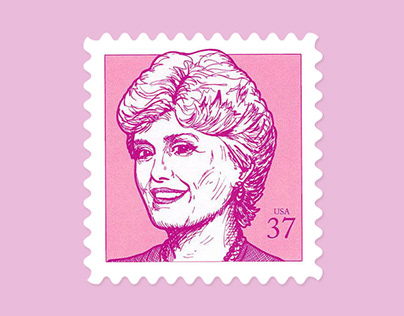 The Golden Girls commemorative stamps