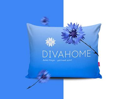 Фирменный стиль компании DivaHome