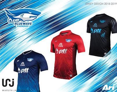 Bluewave Chonburi (Futsal) Jersey 2018-19