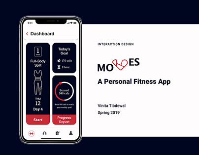 Moves: A Personal Fitness App