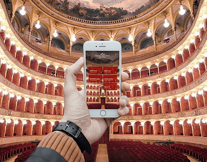 UI-UX Teatro dell'Opera di Roma App Concept