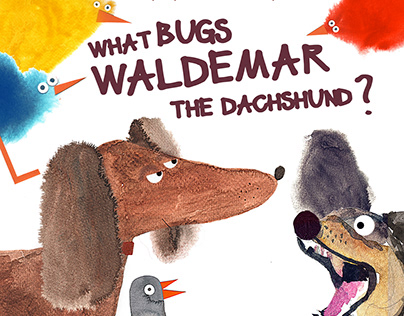 """What bugs Waldemar the dachshund"" motion book"