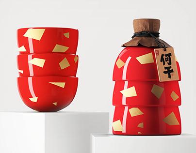 凌云创意出品---何干 · 大红碗
