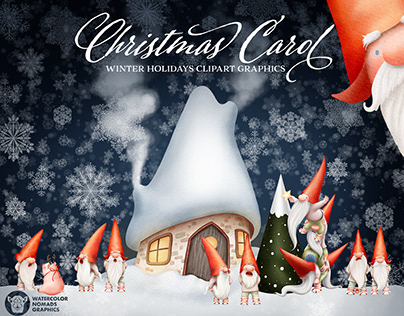 Christmas Carol Illustrations