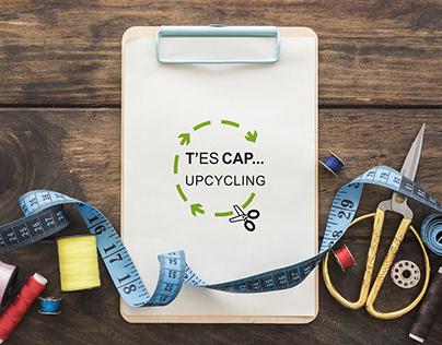 "Création logo T'es Cap Upcycling"""