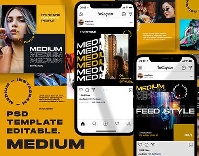 Free Medium - Instagram Template