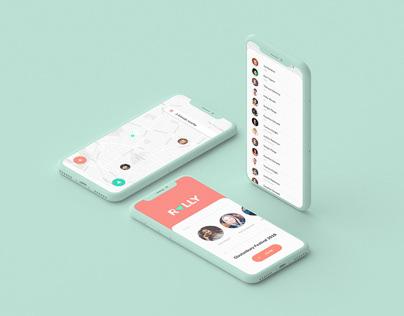 RALLY App Concept