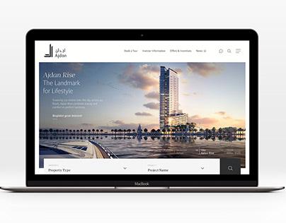 Ajdan Website by Unisono