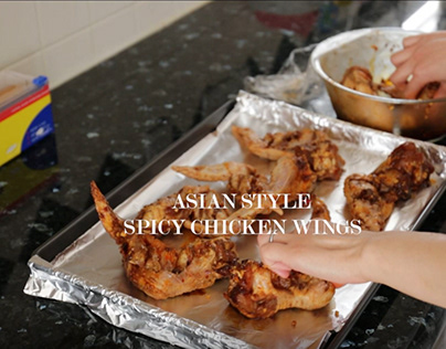 Asian Style Spicy Chicken Wings Recipe video