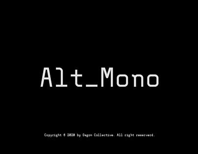Alt_Mono - Monospace Font