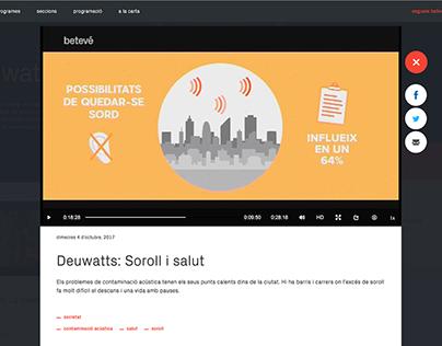 ANIMATIONS FOR BETEVÉ SHOW DEUWATTS / GOROKA