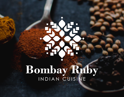Logo design and corporate style for an Indian restauran