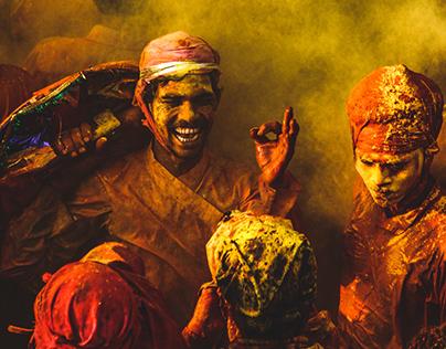 Holi Photography from India