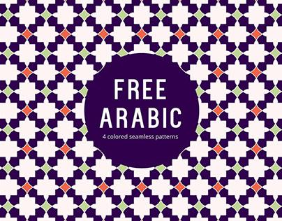 Arabic Free Seamless Pattern