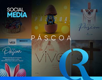 Social Media | Páscoa