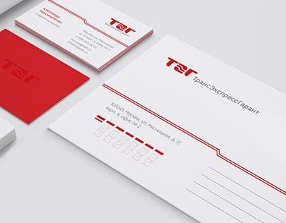 Trans Ekspress Garant Logotype & Identity