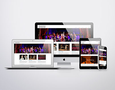 Second Story Repertory | Website Redesign