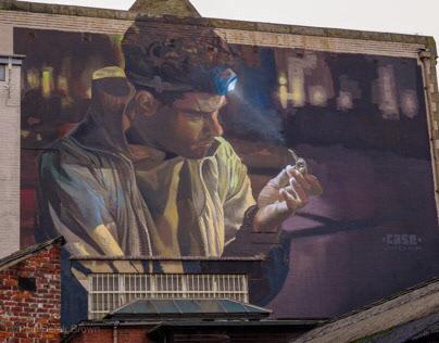More Street Art from Blackburn Open Walls Festival 2018