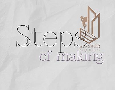 Steps of Making - Pt.2 - Real Estate Logo