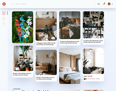 Pinterest Re-Imagined