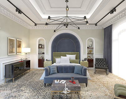 Neo Classical Bedroom for Nawar's office