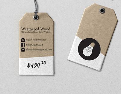 Weathered Wood Branding