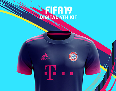 Digital 4th Football Kit FIFA 19.
