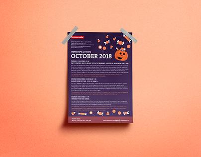 Workshop & Events Flyer